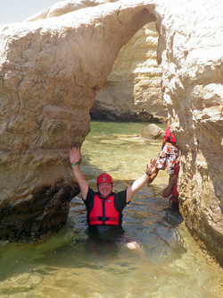 Sea kayaking in Cyprus