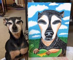 Custom Pet Portrait Samm Wehman Art