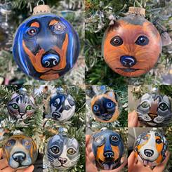 Custom Holiday Ornaments
