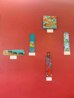 """""""Oceans and Seas"""" Gainesville Fine Arts Association Exhibit at Sweetberries"""