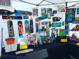 Manatee Festival Display 2019