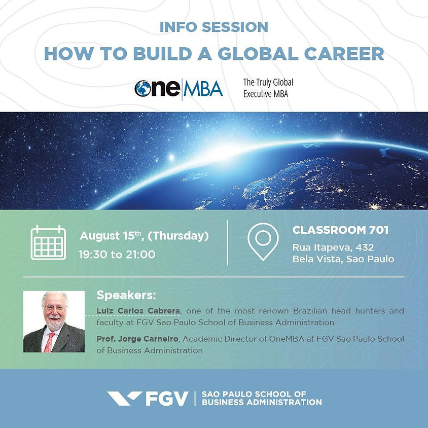 Info Session - How to Build a Global Career