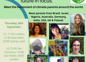 פגשנו הורים מרחבי העולם שפועלים לשינוי. יחד אנחנו חזקים! צפו בשיחה