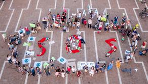הורים וילדים צעדו לכיכר רבין ב 2.9 בקריאה להכריז על מצב חירום אקלימי
