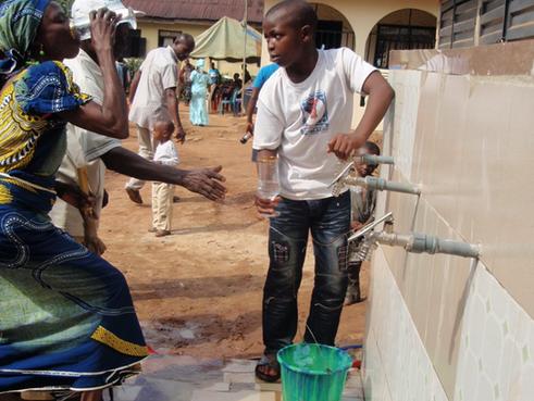 Brunnen in Nigeria