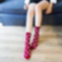New-Socks-Women-Female-Girl-Cotton-Polka