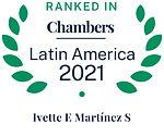 Chambers Latam 2021 - IMS - Ivette Marti