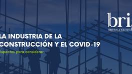 La Industria de la construcción y el Covid-19