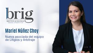 BRIG incorpora nueva asociada a su equipo de Litigios y Arbitraje