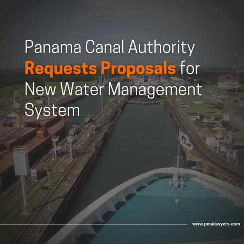Panama Canal Authority Requests Proposals for New Water Management System