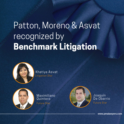 Patton, Moreno & Asvat recognized by Benchmark Litigation 2020 edition