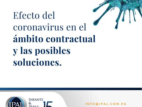 Efecto del Coronavirus en el ámbito contractual y las posibles soluciones