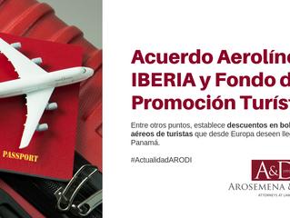 Acuerdo Fondo de Promoción Turística y aerolínea Iberia