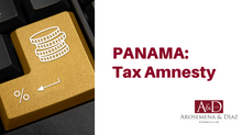 Tax Amnesty – Panama
