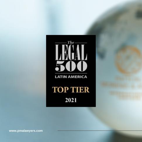 Patton, Moreno & Asvat top tier law firm 2021