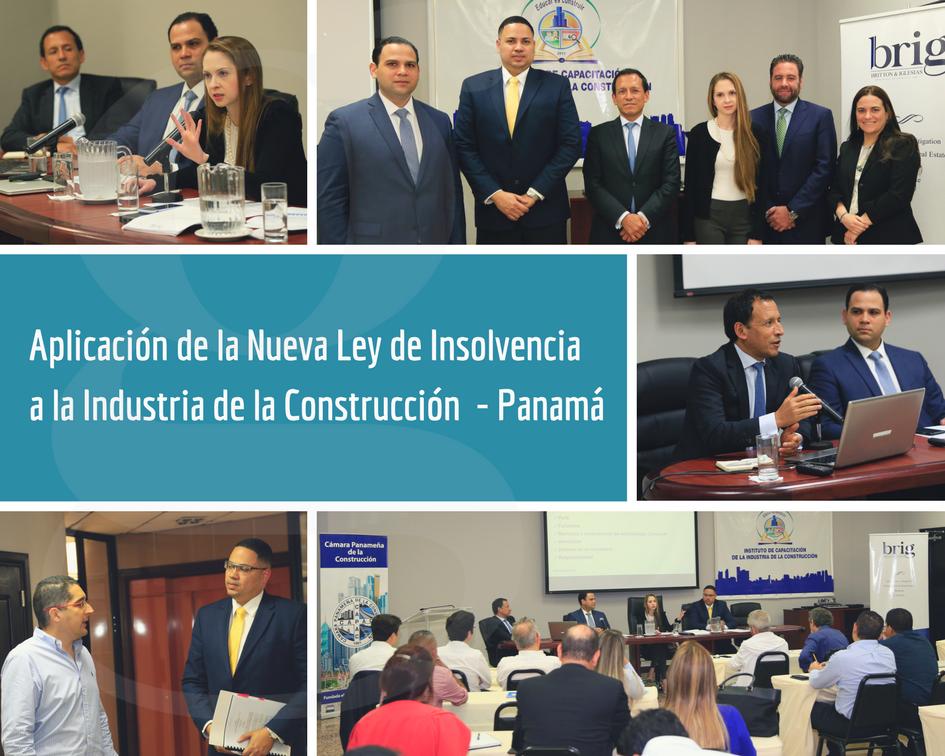 Ley de Insolvencia aplicada al Sector Construcción - Participantes