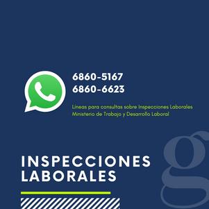 Comunicado MITRADEL - Inspecciones Laborales