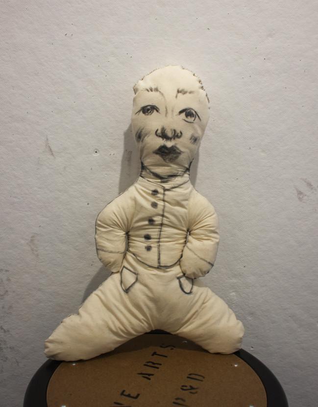 Charcoal Doll 1, 2019