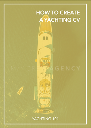 HOW TO CREATE A YACHTING CV