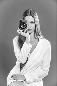 professional portrait of model