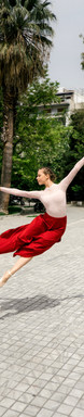 dancer outdoors professional photography