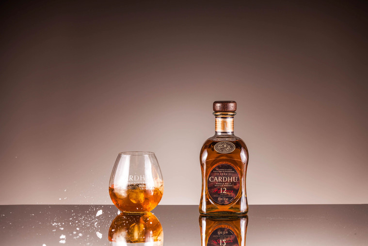 product photography whiskey