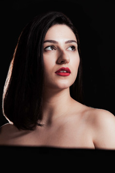 professional portrait of woman