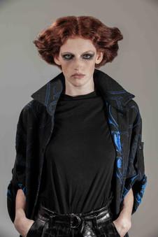 portrait fashion model