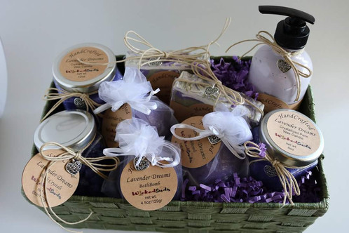Receive this beautiful Basket with everything you need to pamper yourself or someone special in your life . These baskets are great for Birthdays, ...