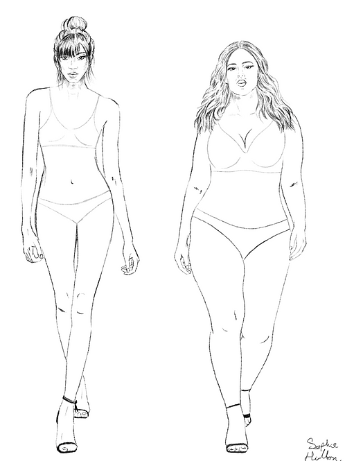 Fashion Illustration - Design me!