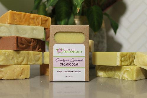 Organic Eucalyptus Spearmint Body Bar