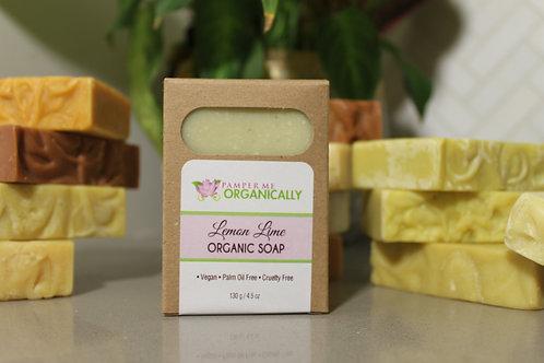 Organic Lemon Lime Body Bar