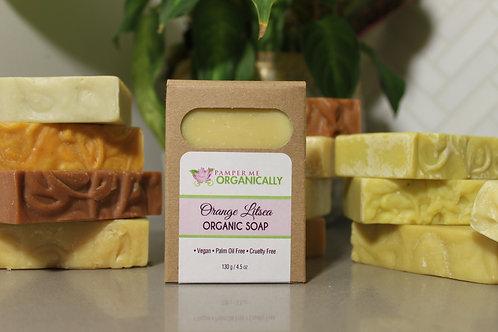 Organic Orange Litsea Body Bar