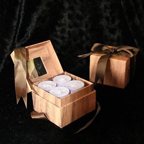 Lavender tealights
