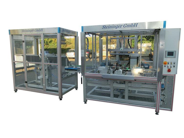 Bohr- und Montageautomat für Spielwarenprodukte