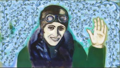 Amy Johnson (Woman Pilot/Pioneer) 'What Amy Did © Karen Watson