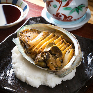 seasonal dish - abalone
