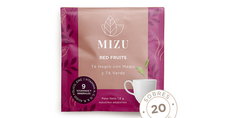Té red fruits - 20 sobres