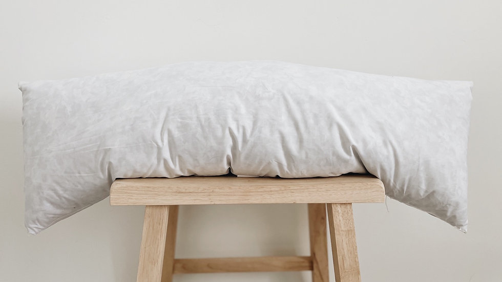12x36 Feather Pillow Insert- preorder