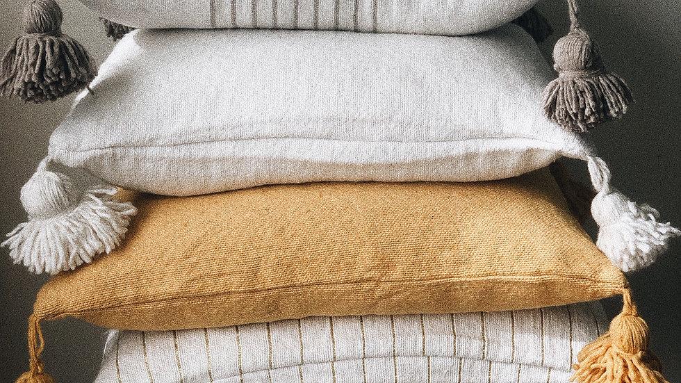 Moroccan Pom Pom Pillow