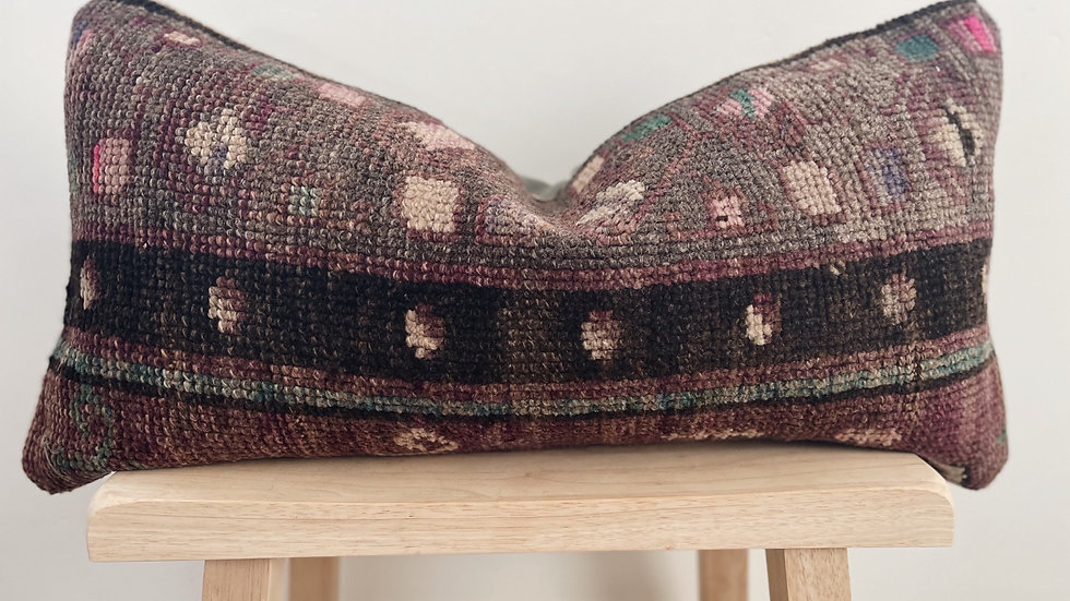 Mini lumbar Kilim Pillow
