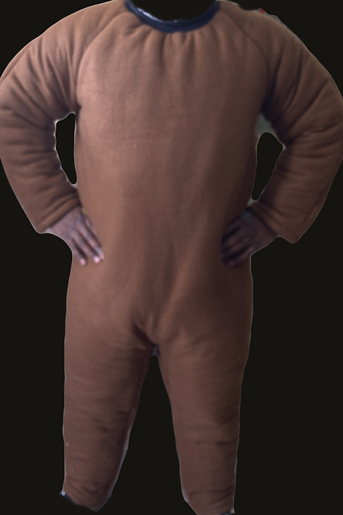 Brown Padded Suit