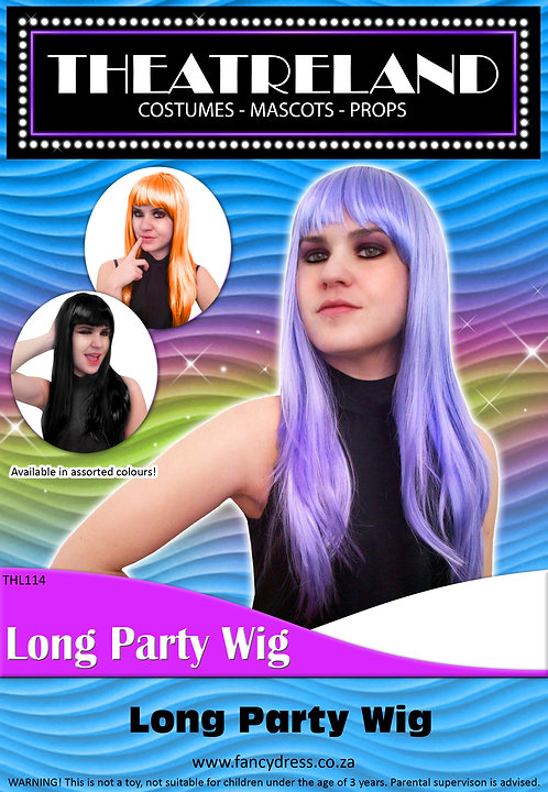 Long Party Wig
