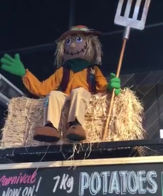 Waving Scarecrow