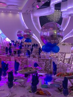 Elegant Balloon Table Centerpiece