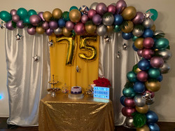 Shine and Bright Party Theme