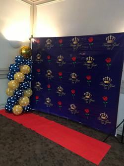 Red Carpet setup
