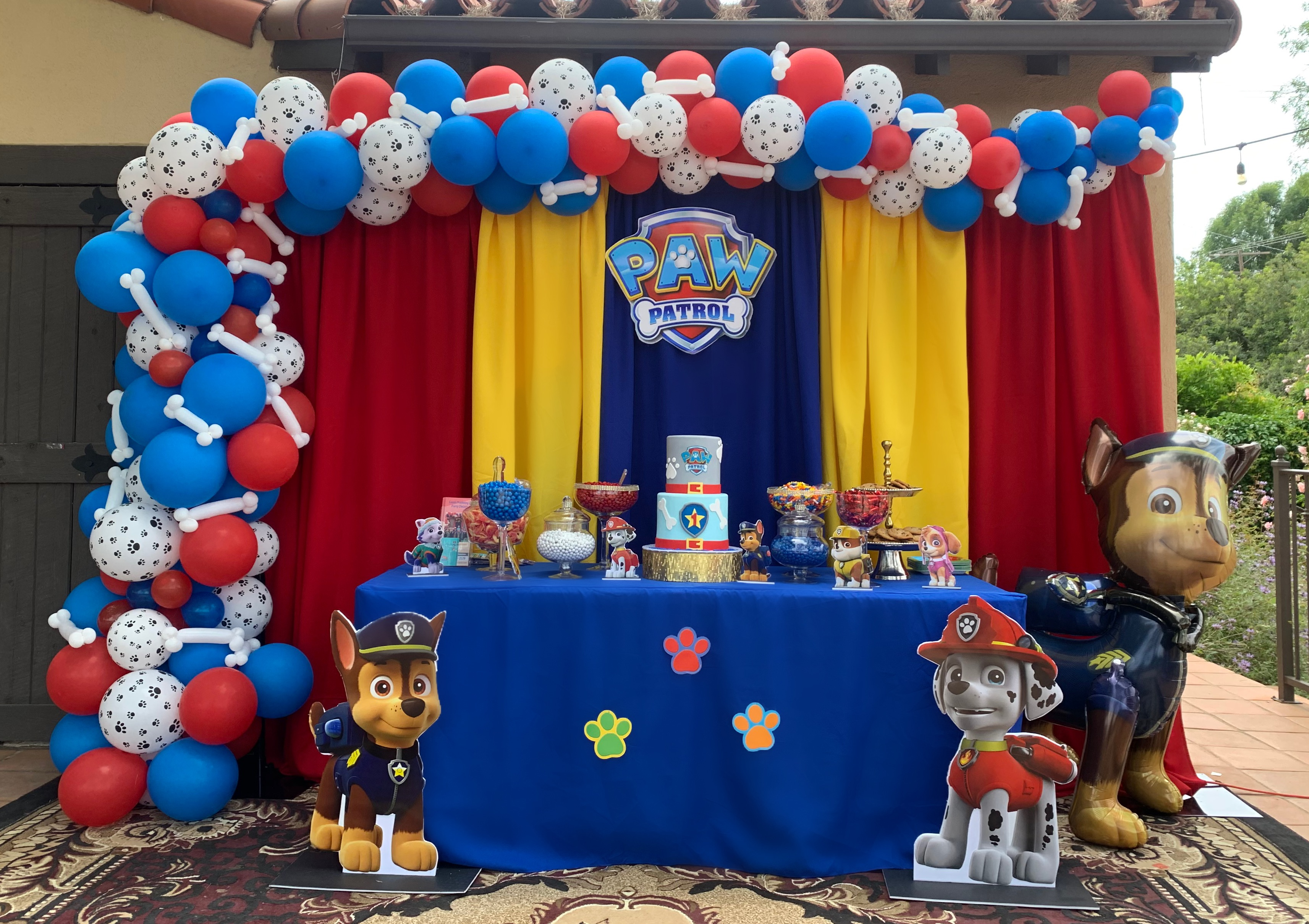 Paw Patrol Birthday Theme