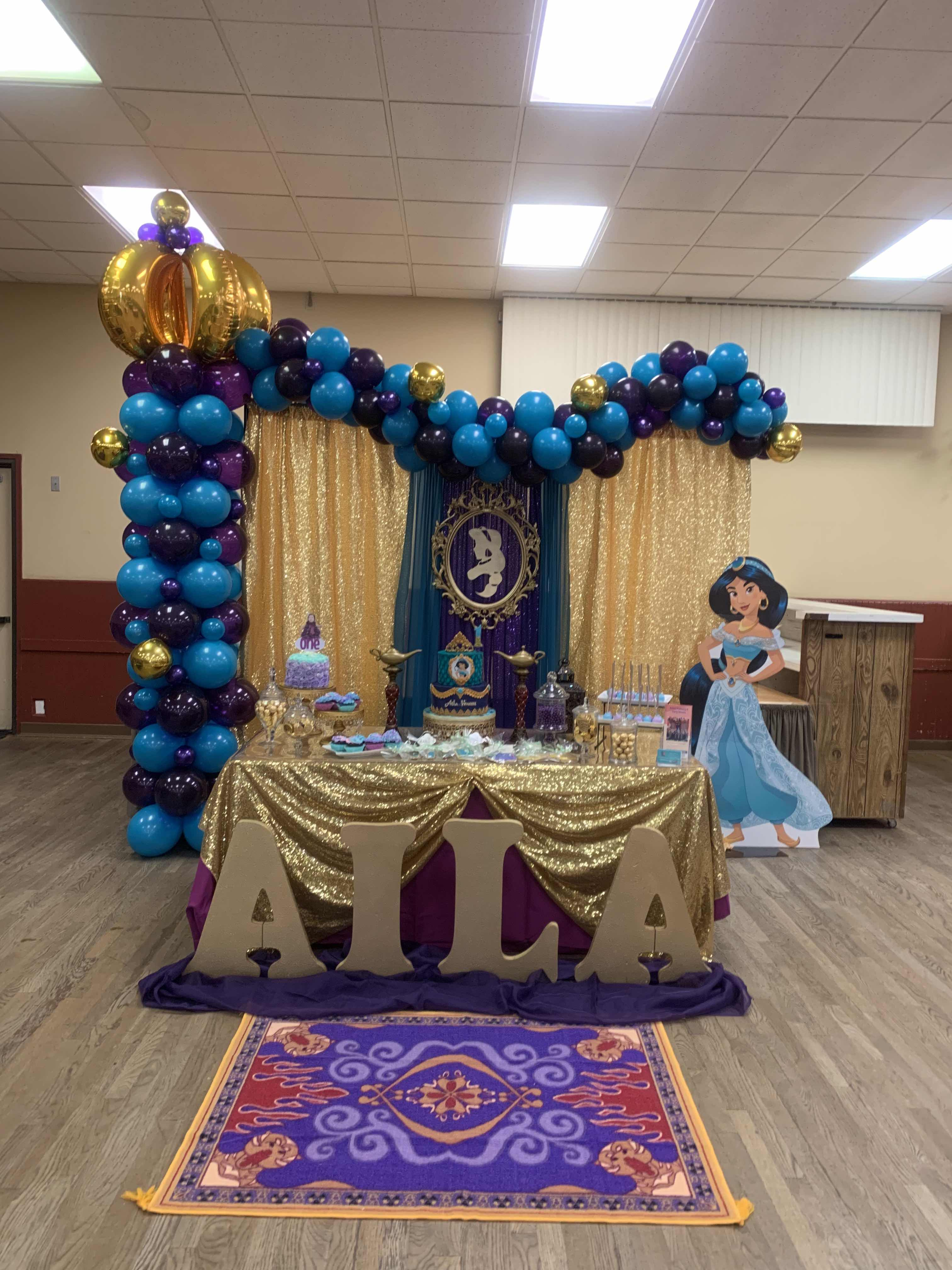 Princess Jasmine Theme