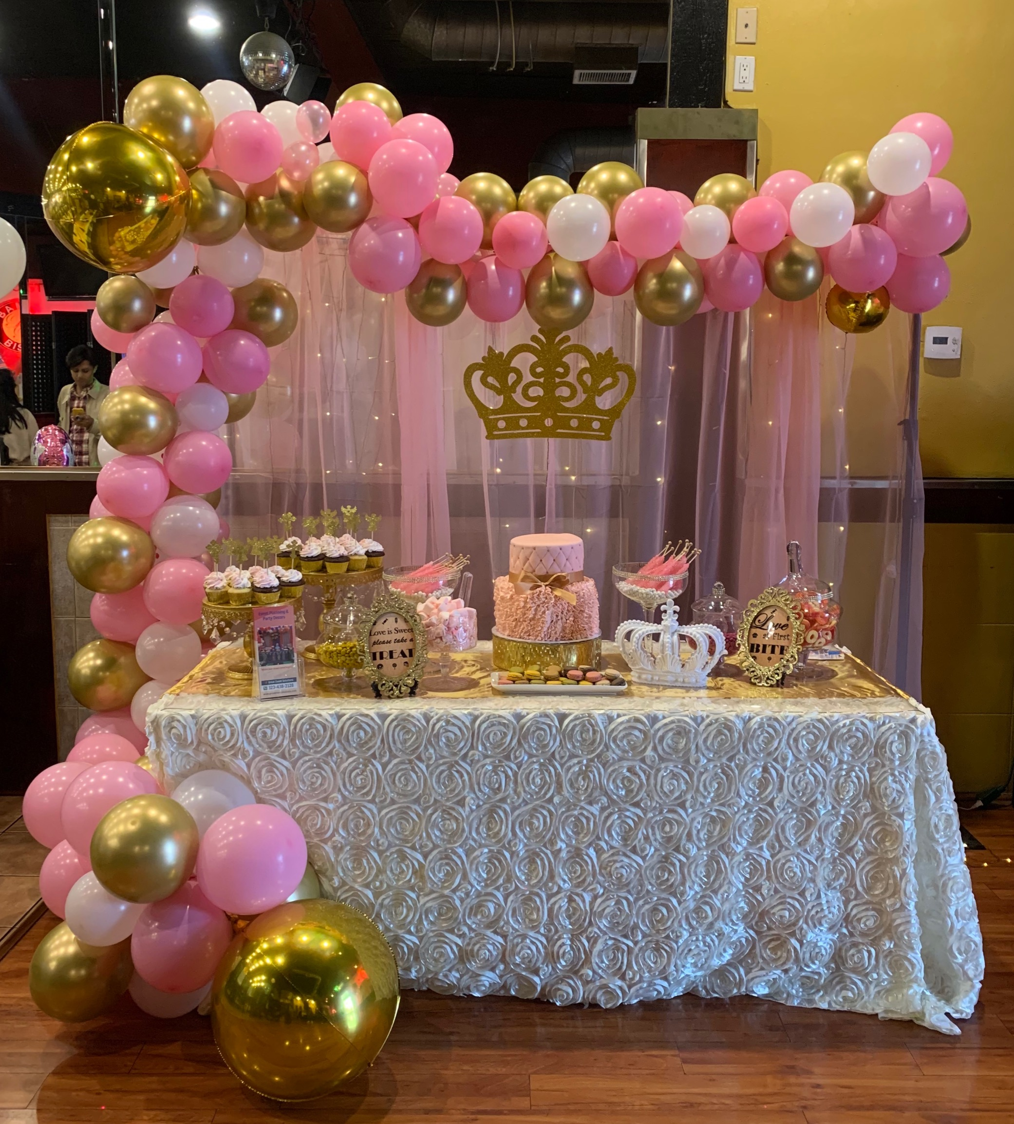 Pink Princess Candy Bar